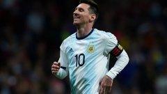 Отчайваща Аржентина при завръщането на Лео Меси (видео)