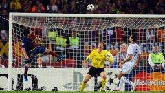 През 2009-а Меси оформи крайното 2:0 за Барса с гол с глава в 70-ата минута.