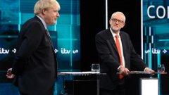 Корбин настоява за нов референдум за Брекзит, Джонсън иска излизане от ЕС на 31 януари