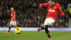 Хуан Мата дебютира с добра игра за Юнайтед, който спечели важни три точки у дома.