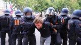 Протестиращи не са спазили изискванията за носене на маски и спазване на социална дистанция