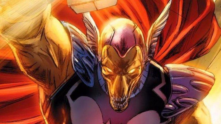 Става дума за Thor: Love and Thunder, следващият филм за Бога на гръмотевиците Тор, игран от Крис Хемсуърт. Фенските спекулации са, че може да става дума за ролята на извънземния Бета Рей Бил (на снимката), макар по-вероятно да звучи да видим Бейл в някоя по-човешка роля...