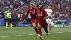 Салах откри от дузпа още във 2-ата минута и това много улесни Ливърпул