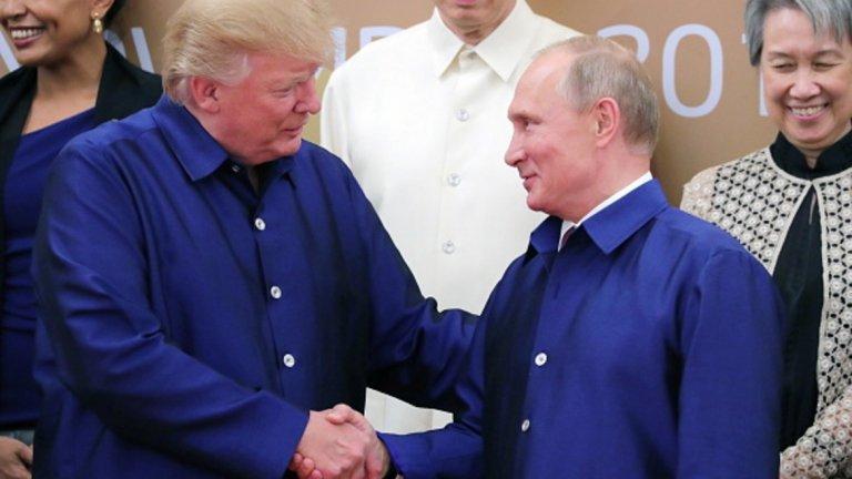 Доналд Тръмп и Владимир Путин обмислят среща на високо ниво