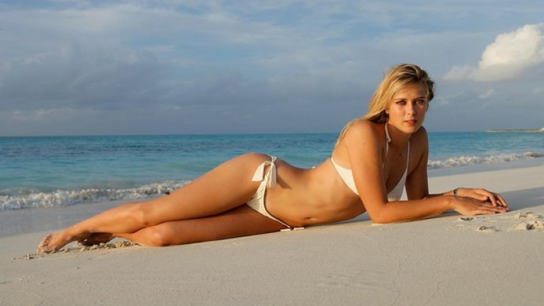 6. Мария Шарапова, Sports Illustrated 2006 г.