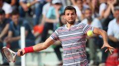 Най-добрият български тенисист може да остане извън топ 70 в света, ако отпадне рано в Монреал