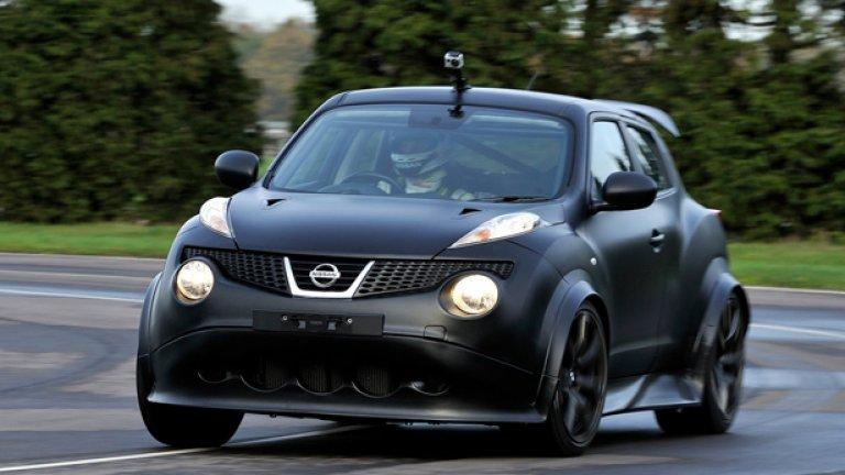 """И победителят е... Nissan Juke (""""Ужасен беше, когато излезе преди 7 години, ужасен продължава да бъде и до ден-днешен"""", Кларксън)."""