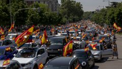 Недоволството в испанската столица тръгна от богаташките квартали