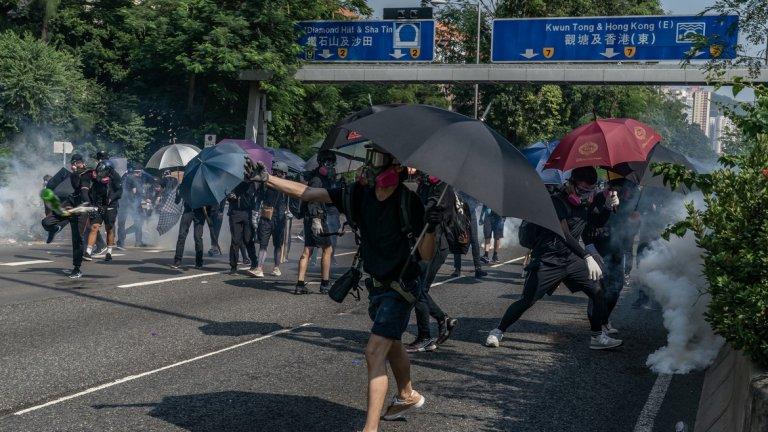 Протестите в Хонконг
