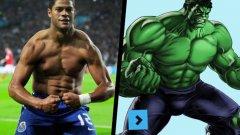 Ако срещнете Живанилдо Виейра де Соуза, почти сигурно няма да се сетите кой е. Но когато се каже Хълк, се сещате не само за измисления персонаж и супергерой на Марвел Комикс, но и за футболния терминатор на Порто и Зенит.