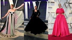 Множество от звездите на тазгодишната церемония бяха заложили на розовия цвят.
