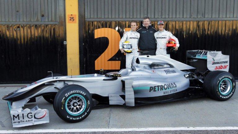 Ако победите не дойдат до юни, Mercedes ще работи за 2011 година