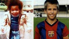 Невръстният капитан на Барселона е разпознаваем, но кой е младежът отляво?