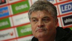 В ЦСКА гадаят за какво мисли Йоан Андоне - за Букурещ или за предстоящия мач за Купата на България?