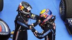 Пилотите на Red Bull Взеха двойна победа в Бразилия, която обаче може да им струва много скъпо в Абу Даби