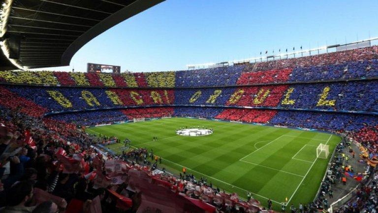 2. Барселона - 76 716 средно на мач