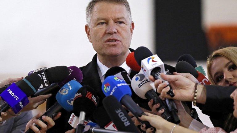 Президентът на северната ни съседка Клаус Йоханис (на снимката) обяви и че армията им ще има нов началник на Генералния щаб