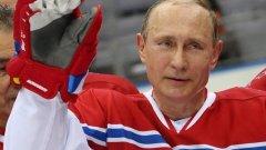 Путин, който навършва днес 63 г., овладя този спорт сравнително скоро - преди 3 г.
