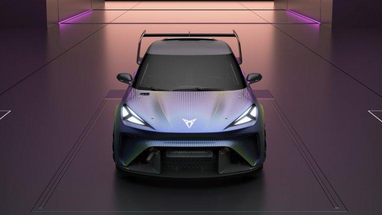 Cupra ще вкара и някои приятни спортни елементи в серийния вариант на електромобила