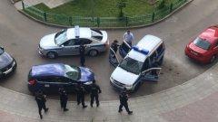 Опозиционерът е арестуван на път за митинга срещу корупцията на улица Тверская