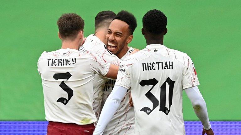 Арсенал повали Ливърпул и започна сезона с трофей