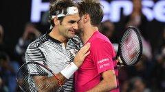 Федерер още веднъж доказа, че правилата не важат за него и достигна до битката за трофея в първия си турнир след 6-месечно отсъствие заради контузия в коляното.
