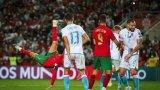 Вратар попречи на Роналдо да отбележи един от най-феноменалните си голове (видео)