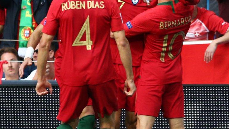 Португалският национален тим постепенно се обновява с вълнуващи нови играчи, но голямата фигура остава само една