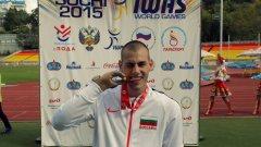 Михаил Христов печели златен медал на дълъг скок от Световното първенство в Сочи