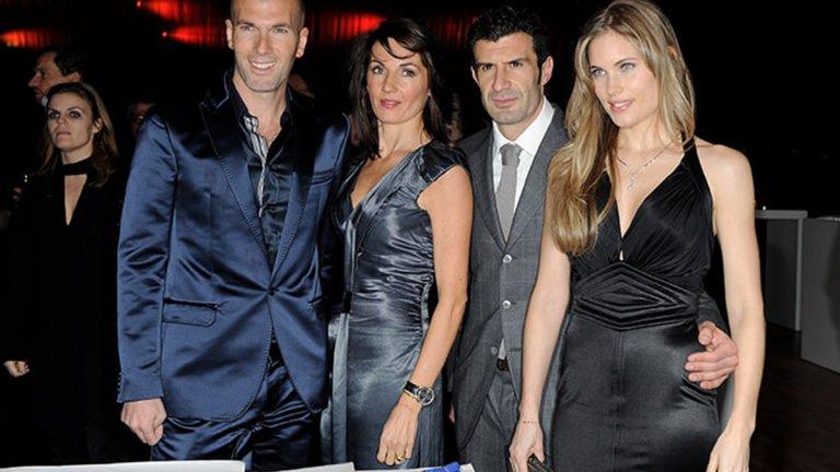 За всичко са виновни жените: Те избраха отбори на Зизу, Шева и Бекъм, а Фиго не искаше любимата си в Playboy
