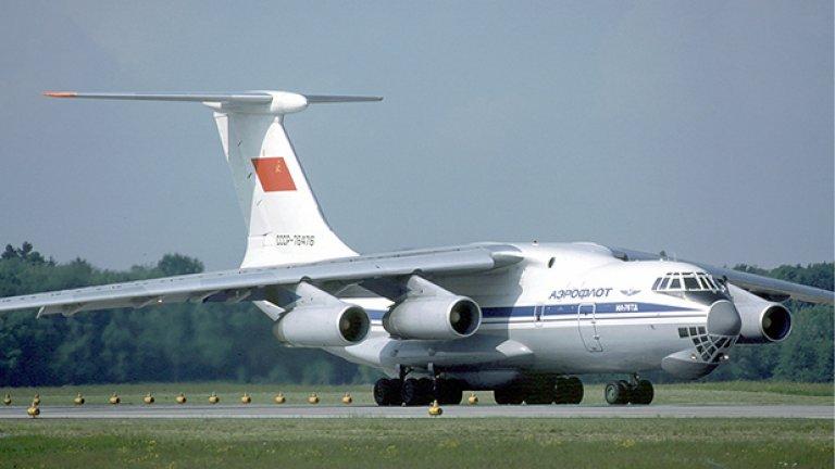 Два самолета Илюшин Ил-76с на китайската военна авиация търсят останки от въздуха