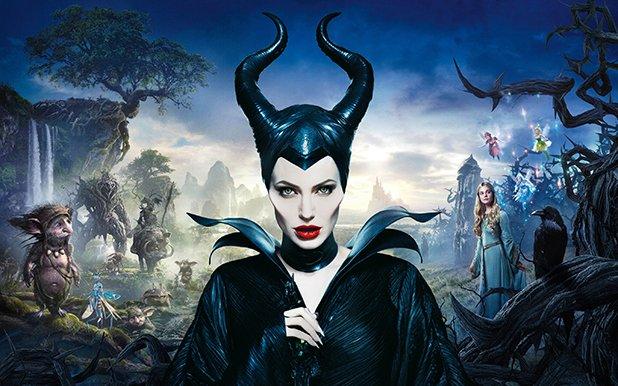 """Победител: Анджелина Джоли  Дори когато половинката на Брад Пит постепенно се оттегля от актьорството и се насочва към режисьорския стол, звездната й мощ е достатъчна, за да превърне филм като """"Господарка на злото"""" във финансов триумф.  Мрачната приказка на """"Дисни"""", рекламирана изцяло чрез образа на Анджелина, се превърна в най-доходоносното заглавие в кариерата на актрисата."""