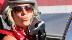 Джеси се е опитала да счупи абсолютния женски рекорд за скорост при придвижване по суша. Той е от 1976 г., когато Кити О'Нийл развива с реактивен автомобил с три колела скорост от 823 км/ч.