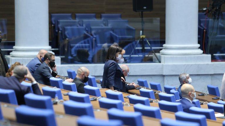 Искането на БСП за изслушване на премиера в Народното събрание беше отхвърлено