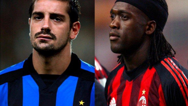 """Франческо Коко в Интер за Кларънс Зеедорф в Милан  Още една размяна, в която Интер се оказа губещ и която от днешна гледна точка изглежда трудна за проумяване. Великият холандски плеймейкър Зеедорф премина в големия съперник Милан, а """"нерадзурите"""" получиха бранителя Франческо Коко - някога смятан за следващия Паоло Малдини, но увлякъл се по различни разсейващи дейности извън футбола. Коко прекрати кариерата си едва на 30 г. и по последни слухове днес работи като агент на недвижими имоти. А Зеедорф изкара 10 знаменити години в Милан.  Победител: Милан"""