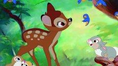 """""""Бамби""""   Филмът е изпълнен с прекрасни горски създания, от които лъха неподправена невинност. Страхотно, нали? Не и когато в гората се появява Човекът, който убива майката на Бамби. Въпреки че филмът има щастлив край, загубата на родителя няма как да не травмира дори и по-малките зрители."""