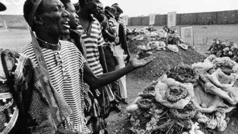 Национален отбор на Замбия, 27 април 1993 г. (De Havilland Canada DHC-5 Buffalo) Националният тим на Гана лети за световна квалификация със Сенегал. Самолетът пада в море край бреговете на Габон. Загиват всички на борда.