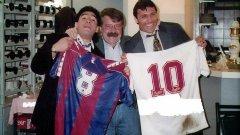 """В онези години Мингея можеше да се похвали с гъсти мустаци тип """"Тодор Батков"""" и с невероятен нюх за футболисти. Става въпрос за агент от старата школа и за истински отдаден фен на Барселона"""