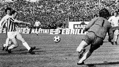 Първият полуфинал за КЕШ между Ювентус и Дарби Каунти през 1973, завършил 3:1, бе най-красивият клубен сблъсък между Италия и Англия