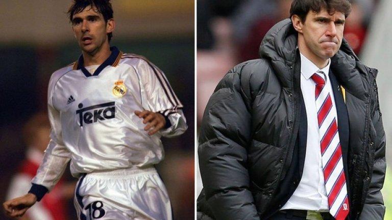 """""""Отрязаната"""" ръка на Каранка (1997)  В същия мач на """"Камп Ноу"""" антигерой става доскорошният треньор на Мидълзбро Айтор Каранка, който беше спряган и като опция за наставник на българския Лудогорец. Тогавашният бранител на Реал направи особено глупава дузпа за игра с ръка и именно от бялата точка Джовани вкара за победното 2:1. Впоследствие Каранка призна, че справедливо наказание би било да му отрежат ръката. На реванша обаче Реал се налага с убедителното 4:1 и отново се оказва крайният победител за Суперкупата."""