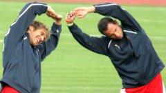 Няма да се отказваме от националния отбор, обявиха Стилиян и Мартин