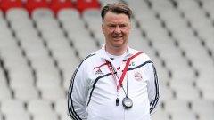 Луис ван Гаал е учителят на Жозе Моуриньо в треньорската професия
