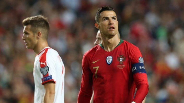 Роналдо отново поведе Португалия и наниза още 4 гола с националния екип