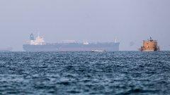 Пет дни след като друг кораб бе атакуван с дрон в същия район