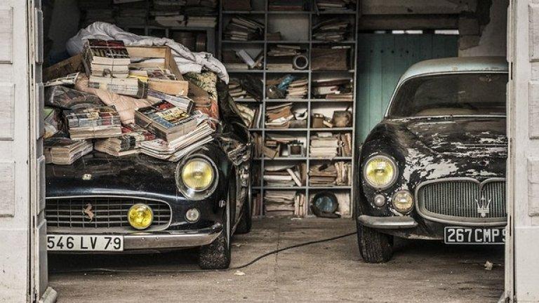 Колекцията на Роже Байон наброява 100 коли, от които обаче могат да бъдат спасени едва 60