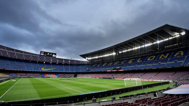 Covid-19 застигна и Барселона преди мача с Байерн