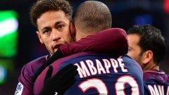 На Неймар и Мбапе се възгалат големи надежди за успех в Шампионската лига.