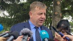 """""""Не може в името на това няколко соросоидни НПО-та и партийки извън парламента да се докопат до властта, да разсипеш държавата"""", коментира вицепремиерът и министър на отбраната"""
