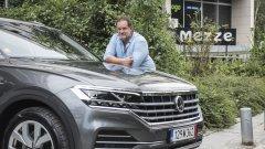 Новият VW Touareg в ръцете на един фен