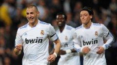 Карим Бензема вкара по два гола на Малага, Еркулес, Сантандер и на Лион, макар и в две срещи